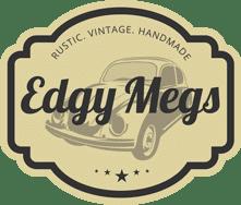 Rustic, Vintage, Handmade Edgy Megs